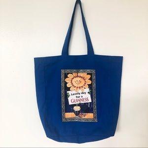 Flower Guinness Tote Bag